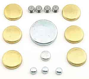 Mr. Gasket 6483 - Mr. Gasket Brass Freeze Plug Kits