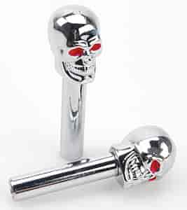 Mr. Gasket 6880G - Mr. Gasket Chrome Skull Accessories
