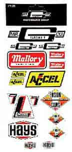 Mr. Gasket 7007G - Mr. Gasket Decal Pack