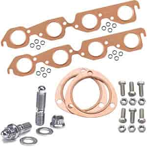 Mr. Gasket 7157K1 - JEGS/Mr. Gasket/ARP Copper Exhaust Gasket and Stainless Stud Kits