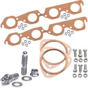 Mr. Gasket 7157K2 - JEGS/Mr. Gasket/ARP Copper Exhaust Gasket and Stainless Stud Kits