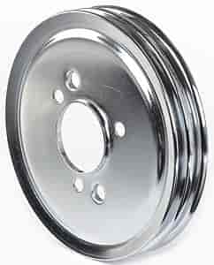 Mr. Gasket 8824 - Mr. Gasket Chrome-Plated Steel Pulleys
