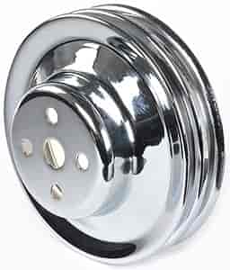Mr Gasket 8831 - Mr. Gasket Chrome-Plated Steel Pulleys