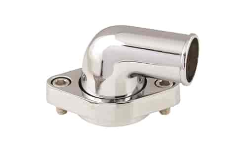 Mr. Gasket 9142G - Mr. Gasket Chrome Thermostat Housings