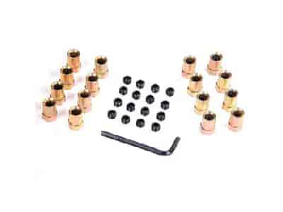 Mr. Gasket 923G - Mr. Gasket Sure-Lock Rocker Arm Nuts