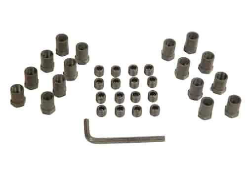 Mr. Gasket 924G - Mr. Gasket Sure-Lock Rocker Arm Nuts