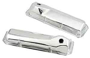 Mr. Gasket 9414 - Mr. Gasket Chrome-Plated Steel Valve Covers