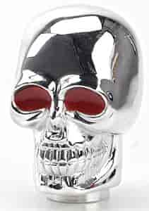 Mr. Gasket 9628 - Mr. Gasket Chrome Skull & Ball Shifter Knobs