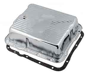 Mr. Gasket 9732D - Mr. Gasket Chrome Transmission Pans