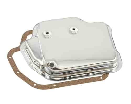 Mr. Gasket 9762 - Mr. Gasket Chrome Transmission Pans