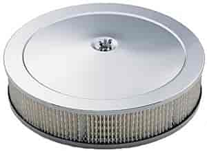 Mr. Gasket 9790 - Mr. Gasket Chrome-Plated Air Cleaners