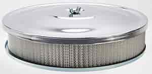 Mr. Gasket 9791 - Mr. Gasket Chrome-Plated Air Cleaners