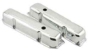 Mr. Gasket 9807 - Mr. Gasket Chrome-Plated Steel Valve Covers