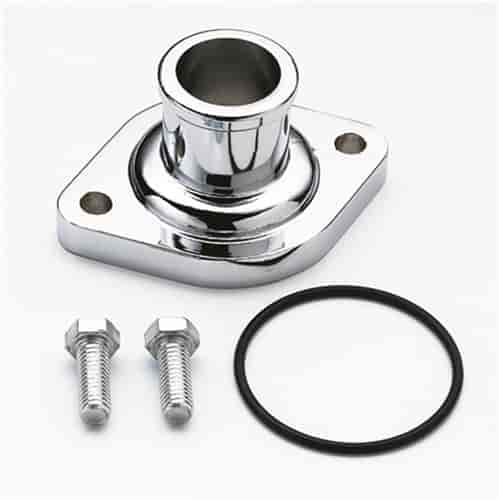 Mr. Gasket 9845 - Mr. Gasket Chrome Thermostat Housings