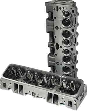 ProMaxx Performance Cast Iron Small Block Chevy Vortec Cylinder Heads  Assembled