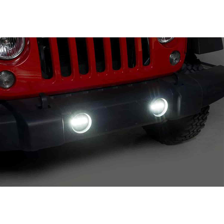 Putco 12001 Luminix Led Fog Light Bar 2007 2017 Jeep Wrangler Jk Jegs Lights