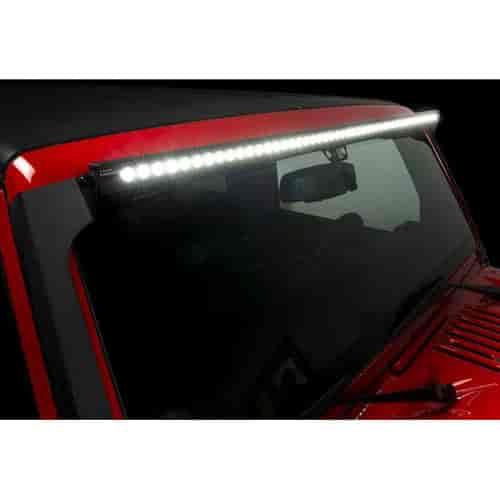 Putco 10050jk luminix led light bar mount 2007 2017 jeep wrangler view all putco luminix led light bars aloadofball Image collections