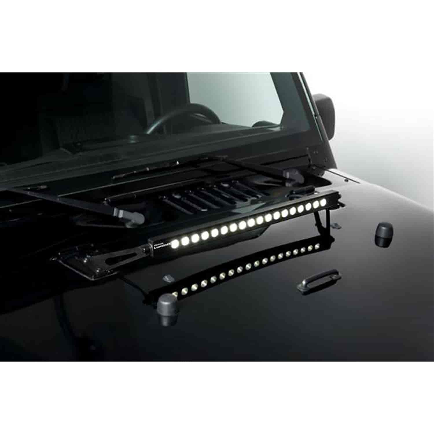 putco 2285 luminix led light bar mount 2007 15 jeep. Black Bedroom Furniture Sets. Home Design Ideas