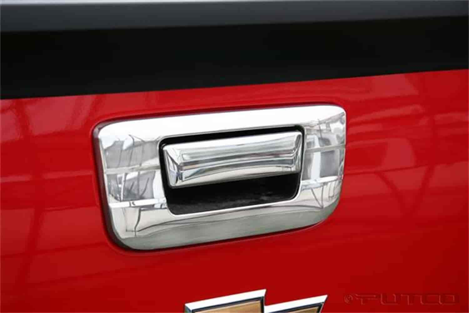 CCI CCITGH65502B - CCI Chrome Tailgate Handle Covers