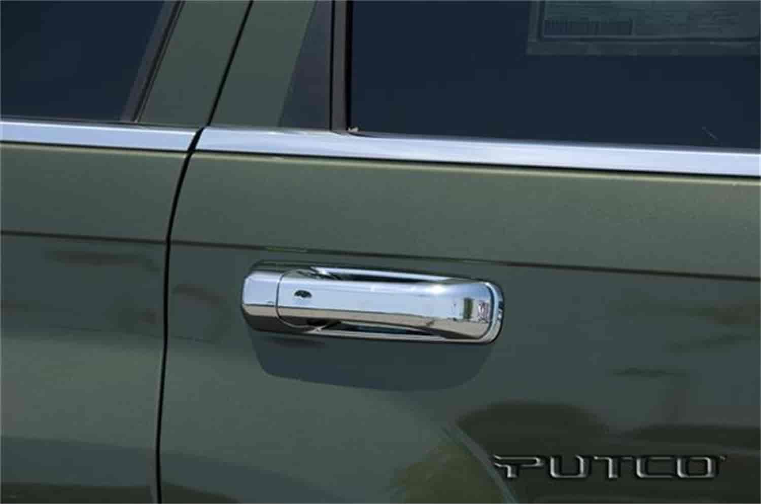 CCI CCIDH68130B - CCI Chrome Door Handle Covers