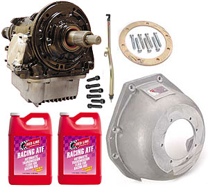 Performance Automatic PA26107K - Performance Automatic Racing Ford Street/Strip Transmissions
