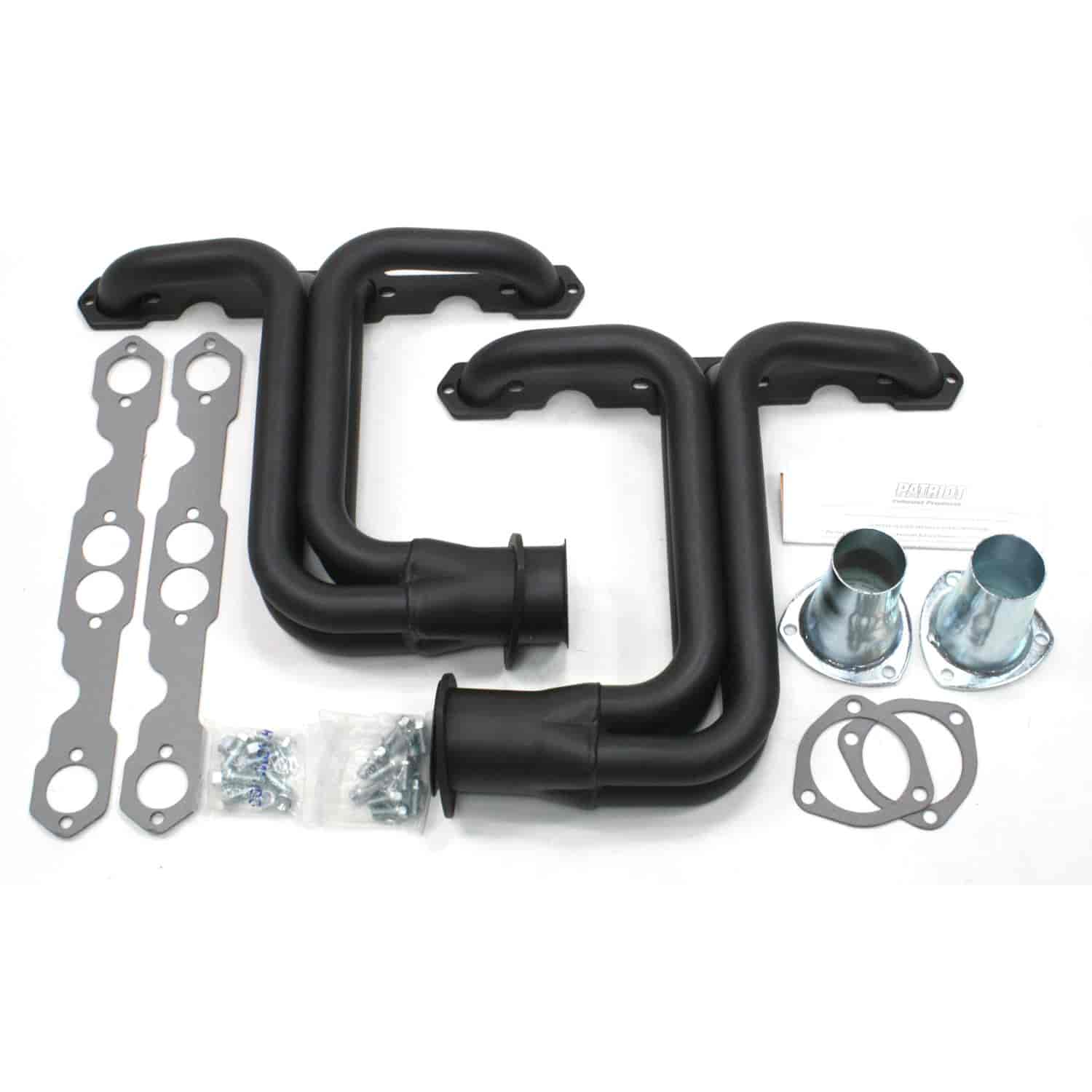 Patriot Exhaust H8017-B: 265-400 Small Block Header Chevy