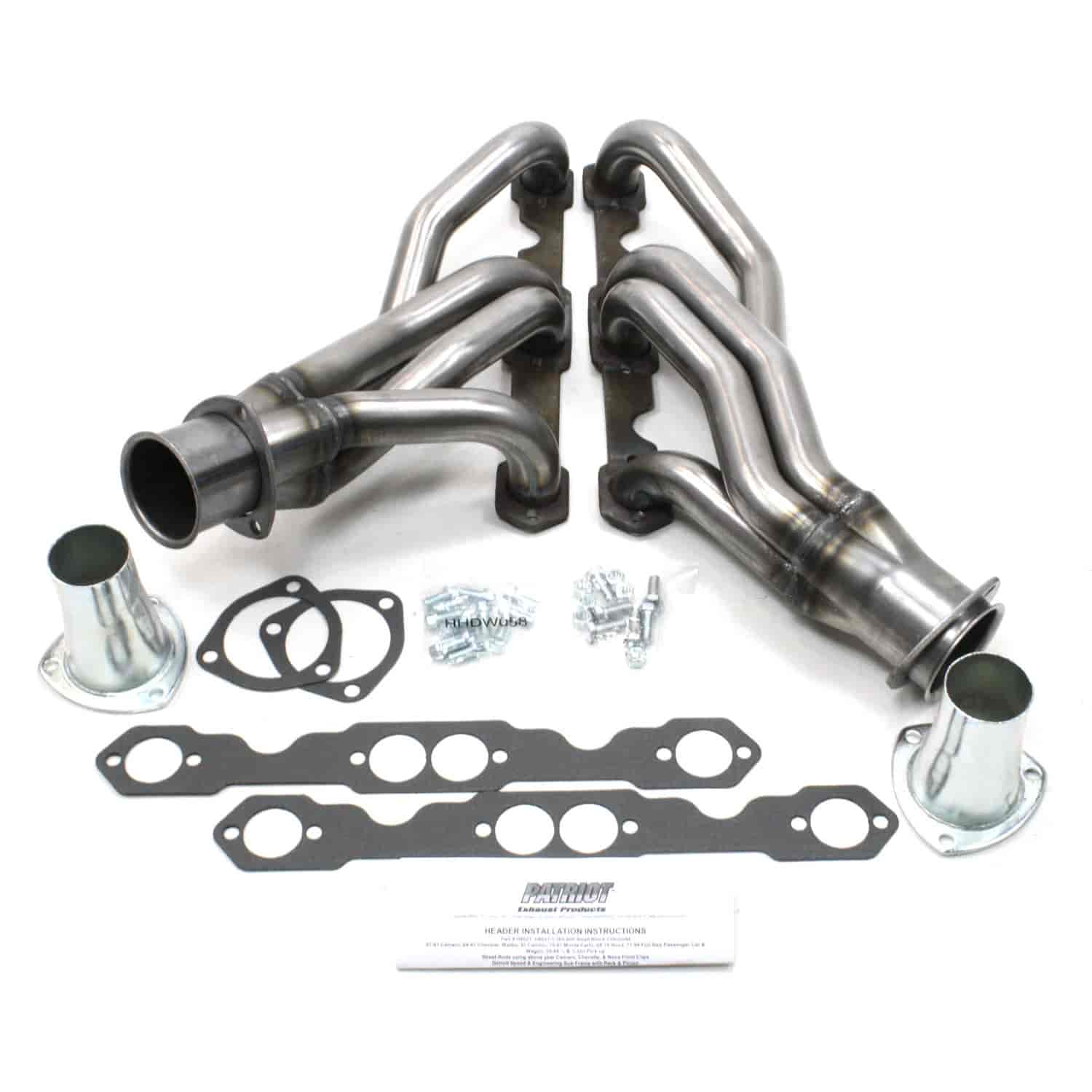 Patriot exhaust h8021 gm specific fit headers jegs patriot exhaust h8021 freerunsca Image collections