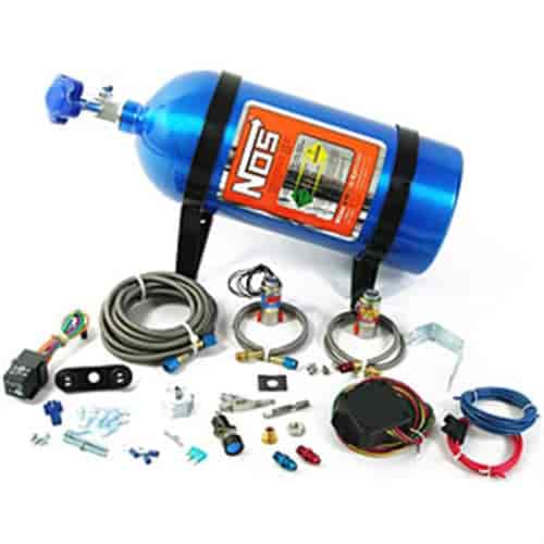 NOS 02121 - NOS Ford Mustang EFI Wet Nitrous Systems