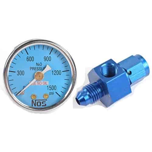 DynoTune Product, 007-Round Digital Nitrous Pressure Gauges ...