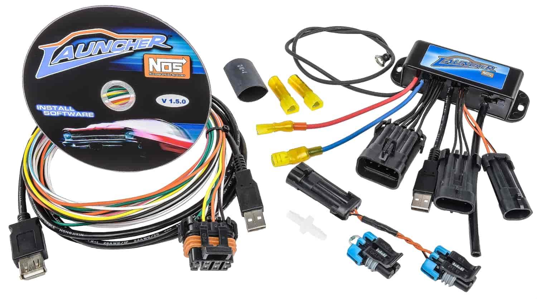 nos launcher progressive nitrous controller controller only nos 15977