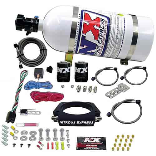 Nitrous Express 20933-10 - Nitrous Express GM LS Nitrous Plate Systems