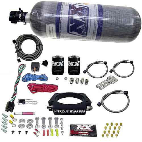Nitrous Express 20933-12 - Nitrous Express GM LS Nitrous Plate Systems
