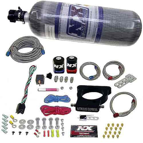Nitrous Express 20935-12 - Nitrous Express GM LS Nitrous Plate Systems