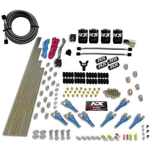 Nitrous Express 90006-00 - Nitrous Express Shark Direct Port Nitrous Systems