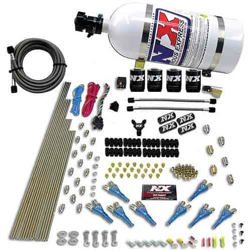 Nitrous Express 90006-10 - Nitrous Express Shark Direct Port Nitrous Systems