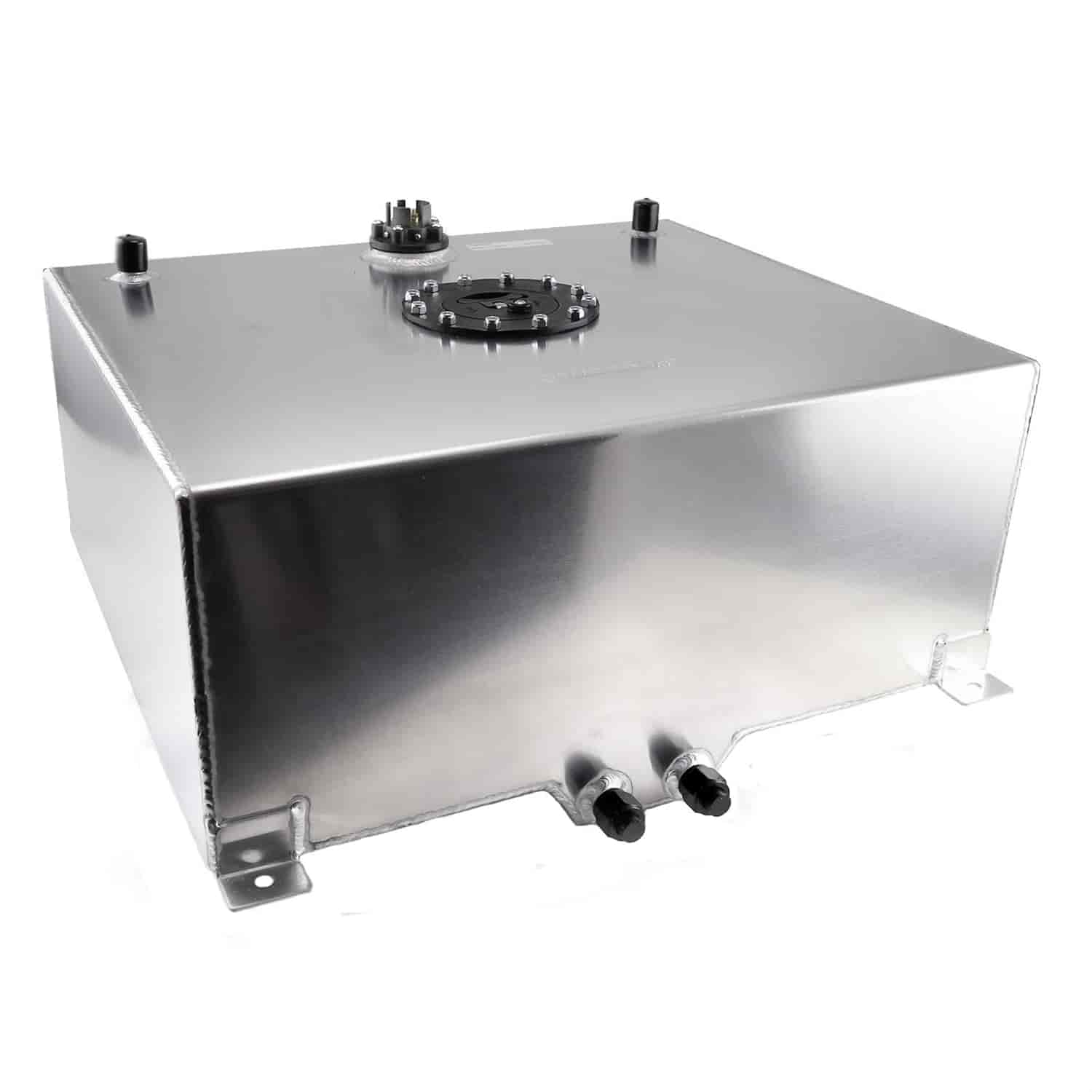 Speedmaster Polished Aluminum Fuel Cell with Sender Capacity: 20 Gallons