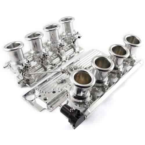 Speedmaster Complete Downdraft EFI Stack Intake Manifold System - Chevy LS3  Fuel Injected