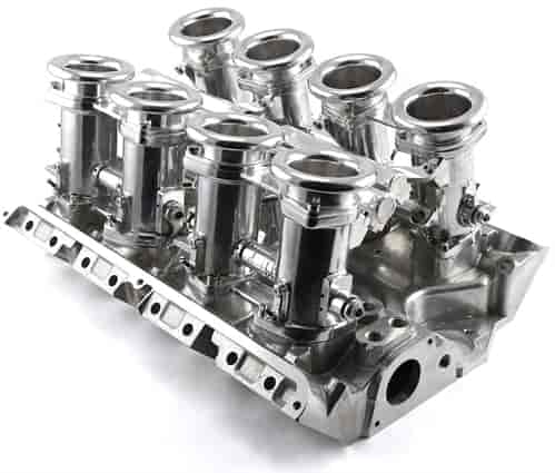 Speedmaster Complete Downdraft EFI Stack Intake Manifold System - Ford FE  390/427/428 Fuel Injected