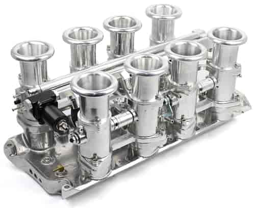 Speedmaster Complete Downdraft EFI Stack Intake Manifold System - Small  Block Ford 260, 289, 302W Fuel Injected