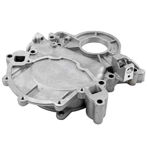 Speedmaster Natural Aluminum 1-Piece Timing Chain Cover 1981-1999 Small  Block Ford 289/302/351 Windsor 5 0L EFI