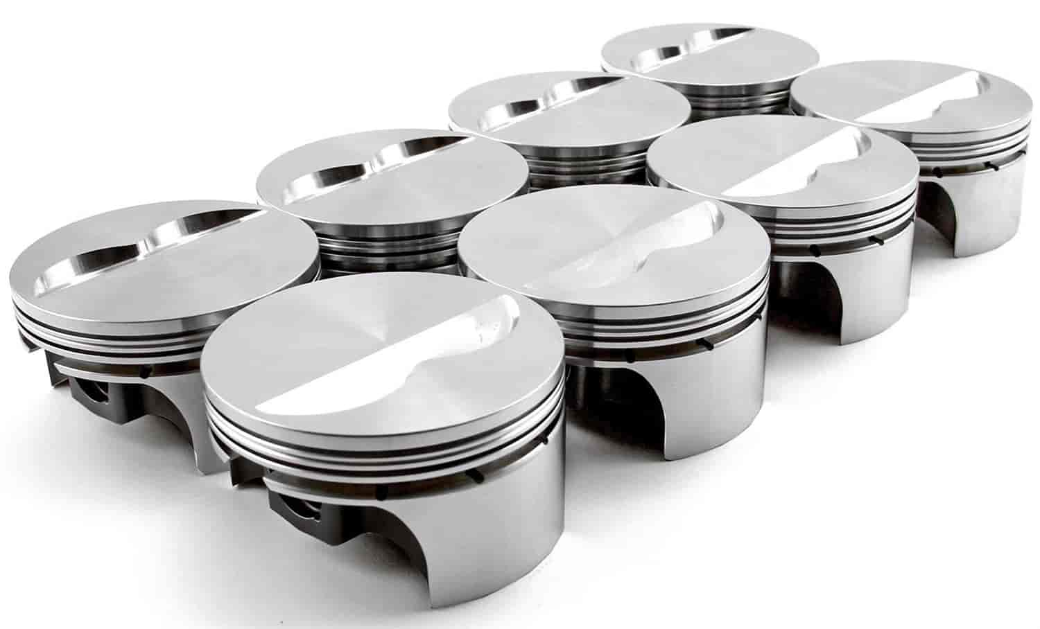 Speedmaster Flat-Top Forged Pistons Small Block Chevy 350