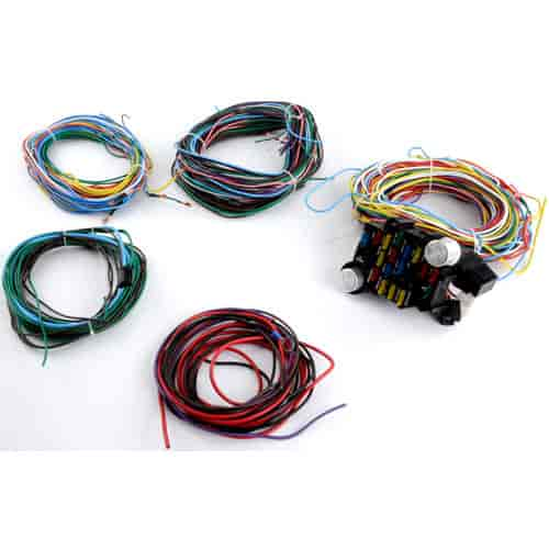 746 pce368 1002 speedmaster pce368 1002 22 circuit wiring harness kit universal jegs universal wiring harness at alyssarenee.co