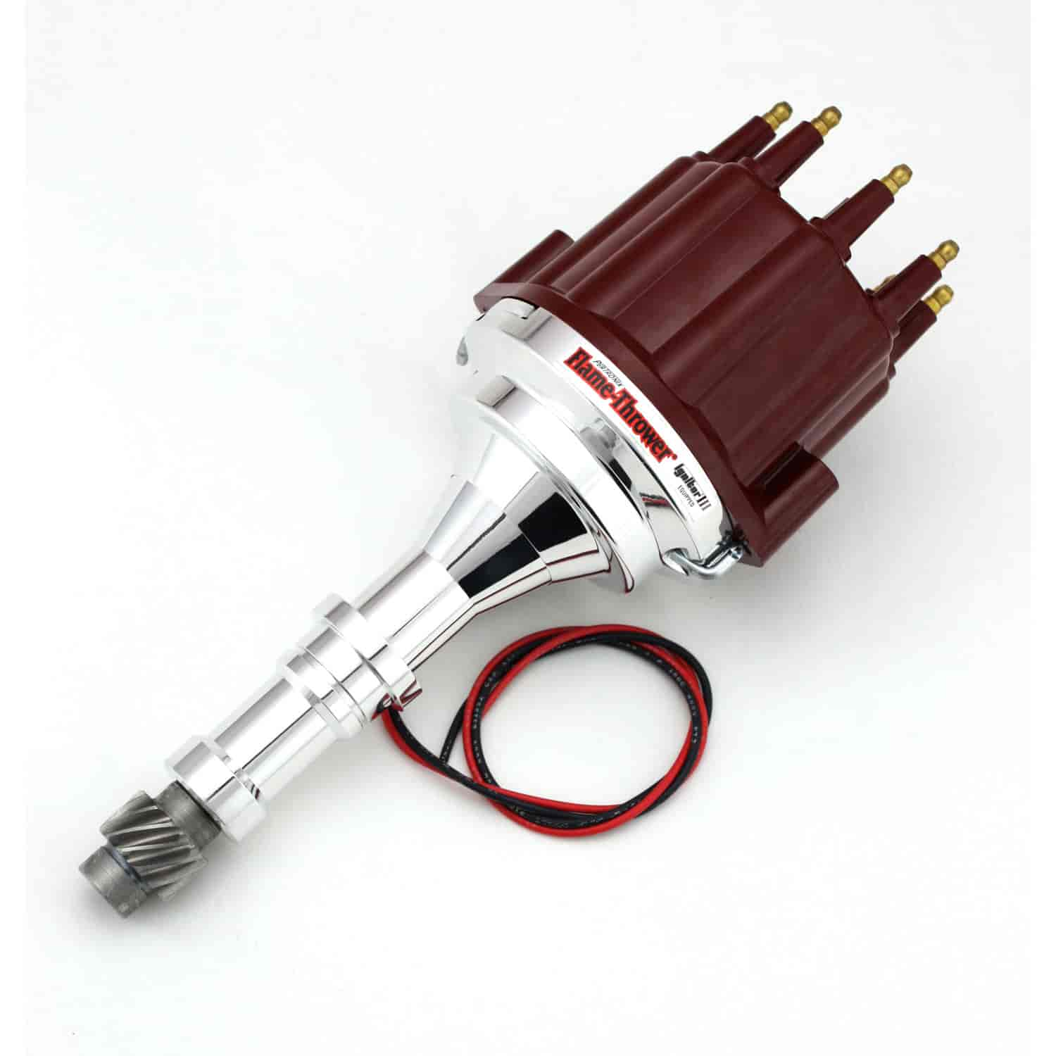 Pertronix D7150811 - Pertronix Flame-Thrower Ignitor III Billet Distributors