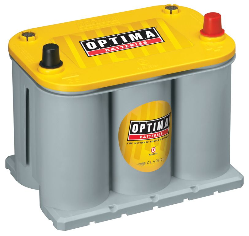 Optima Batteries 9040-218 - Optima YellowTop Deep-Cycle Racing Batteries