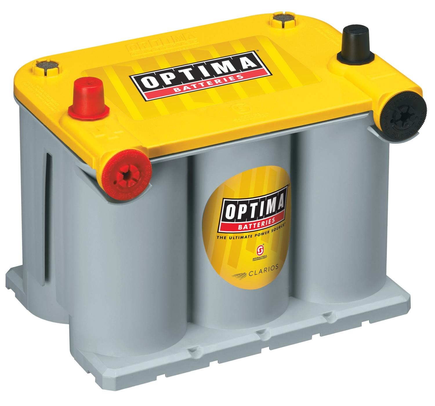 Optima Batteries 9042-218 - Optima YellowTop Deep-Cycle Racing Batteries