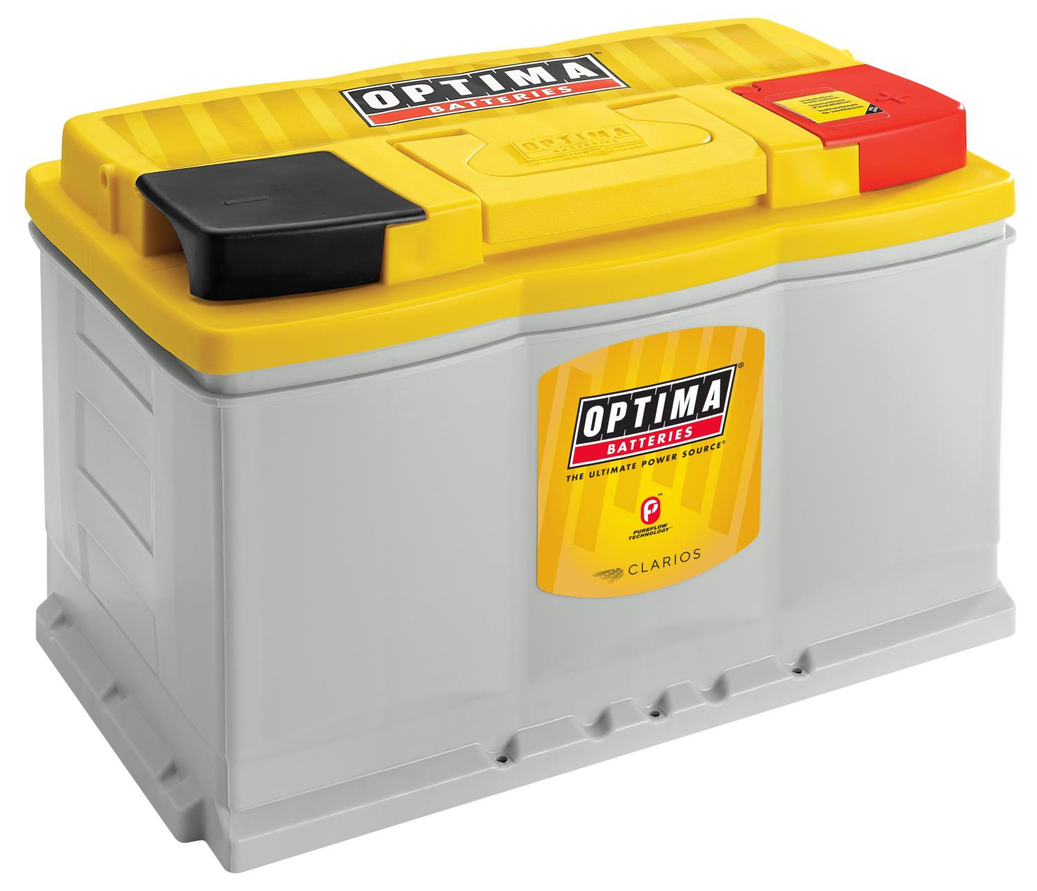 Optima Batteries Yellowtop Pureflow Deep Cycle Battery 12 Volts