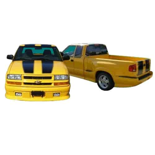 Phoenix Graphix 0203xgld Xtreme Decal Kit For 2002 2003 Chevy S10