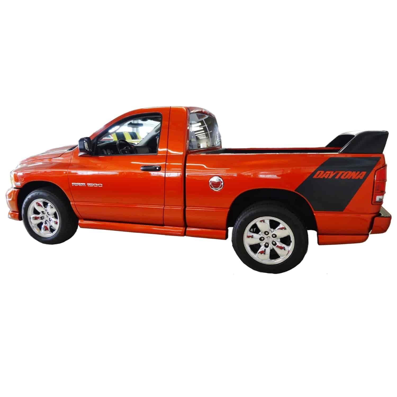 Phoenix Graphix 2005DRD: Daytona Stripe Decals for 2005 Dodge Ram Daytona   JEGS