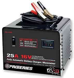 Schumacher Chargers PSC-2516A - Schumacher Fully Automatic Microprocessor Controlled 25 Amp 16 Volt Battery Charger/Maintainer
