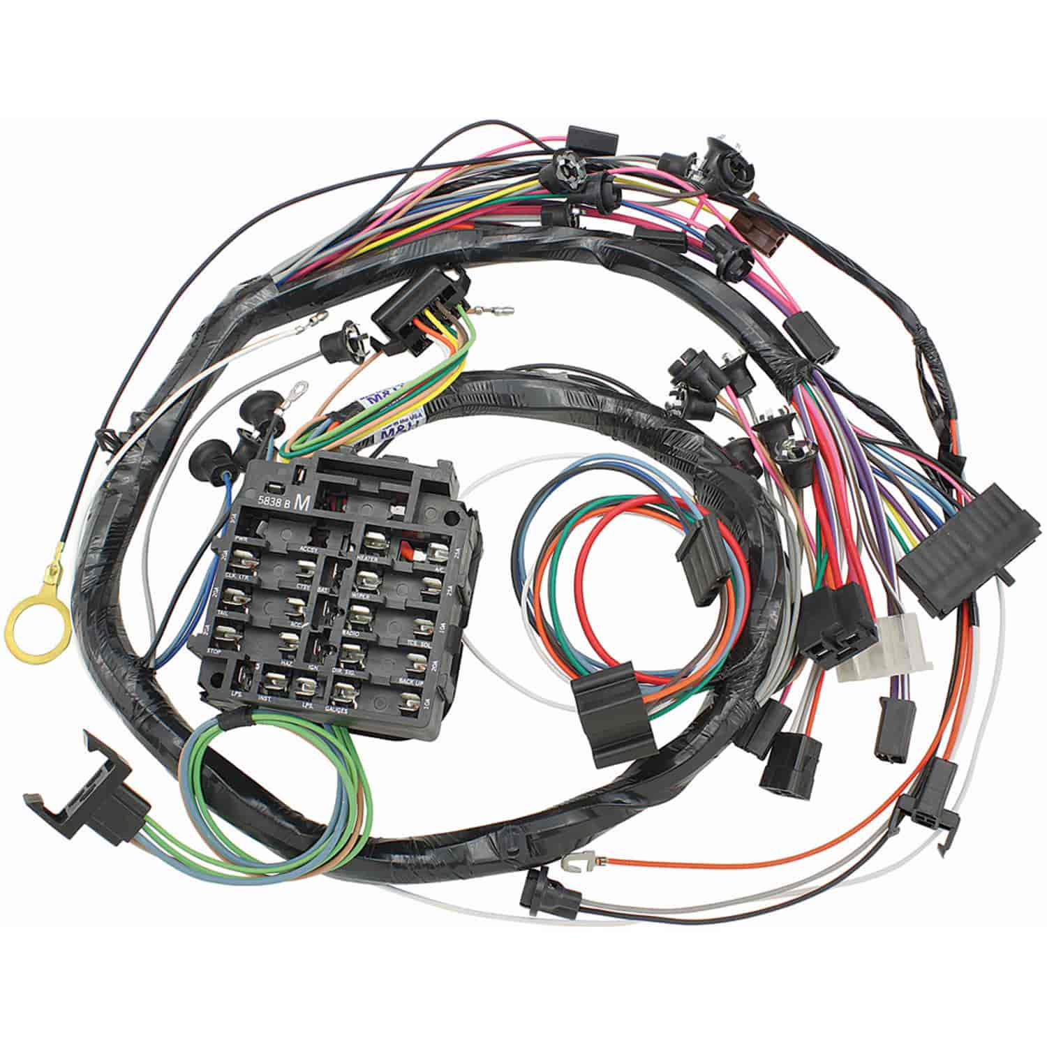 69 Chevelle Wiring Dash Lights Diagram Pictures 1972 Cadillac Deville Restoparts 12935 Harness 1969 El Camino Rh Jegs Com 1968